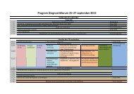 Program Diagnostikforum 25–27 september 2012