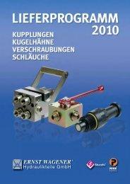 flyer 2010.pdf - Ernst Wagener Hydraulikteile GmbH