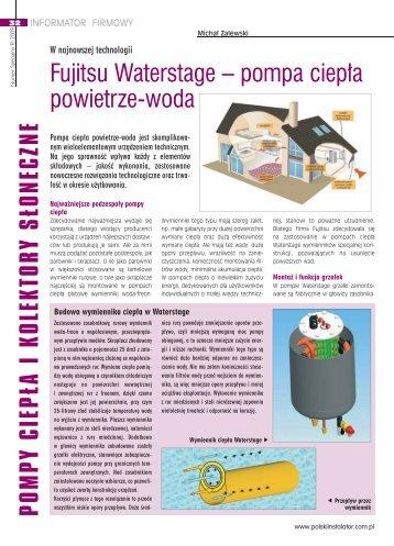 Fujitsu Waterstage – pompa ciepła powietrze-woda - Klima-Therm