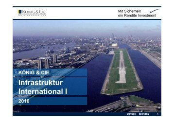 Infrastruktur International I