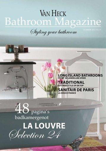 Van Heck Bathroom Magazine - Warmteservice