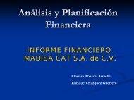 Analisis y Planificación Financiera - OMEGA