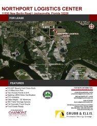 NORTHPORT LOGISTICS CENTER - Oakmont Industrial Group