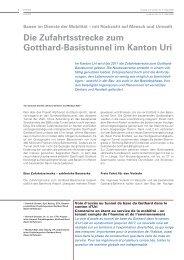 Strasse u. Verkehr 06/09: AlpTransit (pdf) - Basler & Hofmann