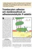 Trombocyter - Institutet för biomedicinsk laboratorievetenskap, IBL - Page 2