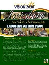 OVERVIEW– VISION 2030 - City of Jonesboro