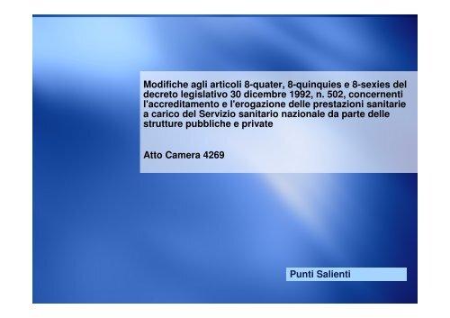 Punti salienti della proposta di legge - FederLab Italia