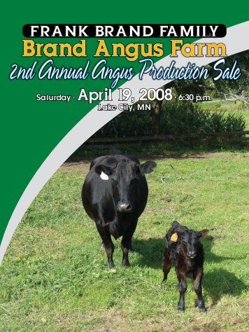 Brand Angus Farm - Angus Journal