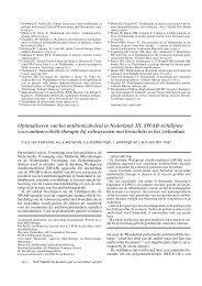 Antimicrobiële therapie bij volwassenen met bronchitis in ... - SWAB