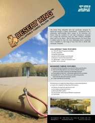 Desert King Tank - SEI Industries Ltd.
