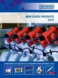 MINI GUIDE PRODUITS 2013 - Motortech GmbH