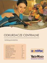 katalog produktów Vacu Maid i aeroVac oraz systemy filtracji - Polmark
