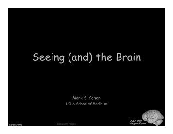 Seeing (and) the Brain - Brainmapping.ORG