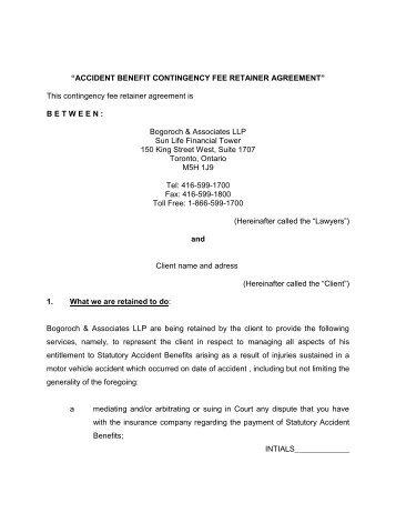 Retainer Fee Agreement Template Underntanacountryinn
