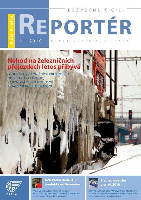 Reportér 2010/1 - AŽD Praha, sro