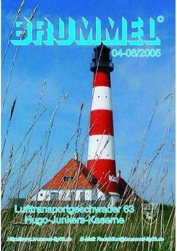 Kieler Woche 18. - 26. Juni 2005 - Brummel
