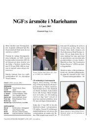 Virtuell Glasteknisk tidskrift, nr 001, 2003 - Glafo