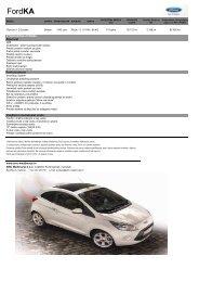 Cjenik Ford Ka (PDF) - AMC Međimurje doo