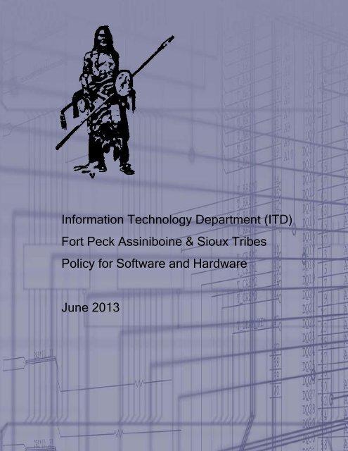 Information Technology Department (ITD) Fort Peck Assiniboine ...