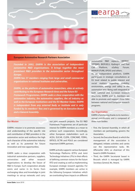EARPA Flyer