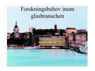 Forskningsbehov inom glasbranschen.pdf - Glafo