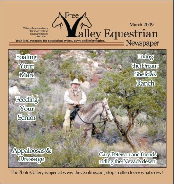 March 2009 - The Valley Equestrian Newspaper