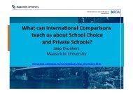 international school choice