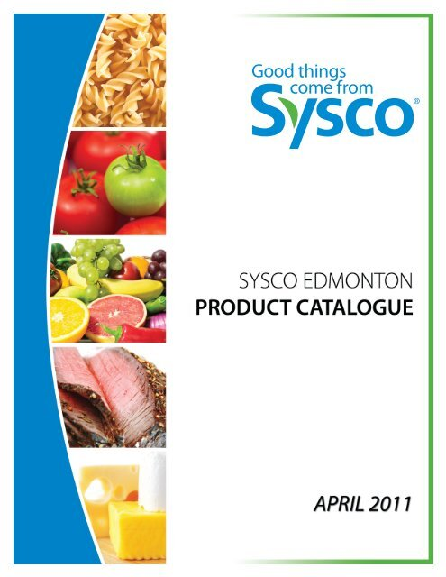 PRODUCT BOOK SHAWN - Sysco Canada