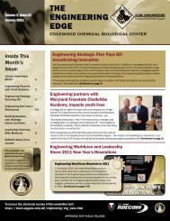 The engineering edge - Edgewood Chemical Biological Center ...