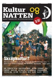 Programtidning 2008 - KulturNatten Uppsala