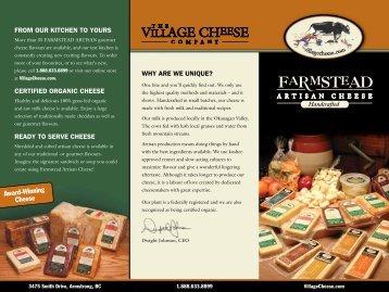 Award-Winning Cheese