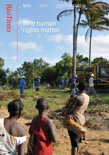 Why human rights matter - Rio Tinto