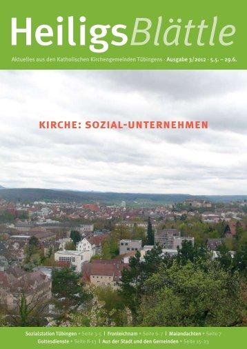 kirche: sozial-unternehmen - Katholische Kirchengemeinde St ...