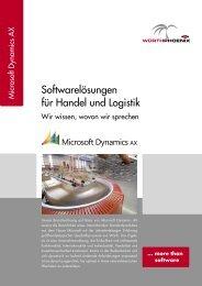 Dynamics AX for Trade & Logistics (german) - Würth Phoenix