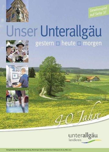 40 Jahre Unterallgäu - Landkreis Unterallgaeu