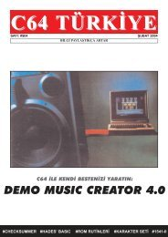 C64 Turkiye - Sayi 04 (Subat 2004).pdf - Retro Dergi