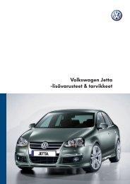 Volkswagen Jetta -lisävarusteet & tarvikkeet