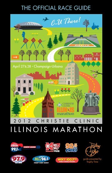 THE OFFICIAL RACE GUIDE - Illinois Marathon
