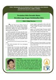 Perubahan Iklim Semakin Nyata, Demikian juga ... - IESR Indonesia