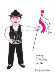 Sarner Kirchtag 2010 - Sarntal
