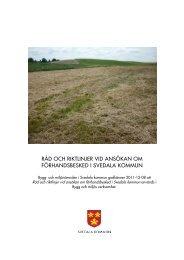 Råd och riktlinjer ansökan förhandsbesked - Svedala kommun