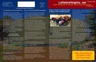 November 2011 Newsletter - La Habra Heights. Net