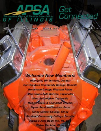 New Members! - Automotive Parts & Service Association of Illinois
