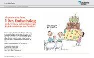 1 års fødselsdag - De Offentlige Tandlæger