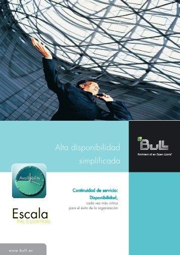 Alta disponibilidad simplificada - Bull