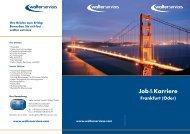 Download Job & Karriere-Flyer - Walter Services GmbH