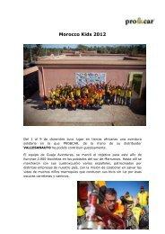 Morocco Kids 2012 - El Chapista