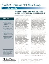 substance abuse treatment for older adults - National Association of ...