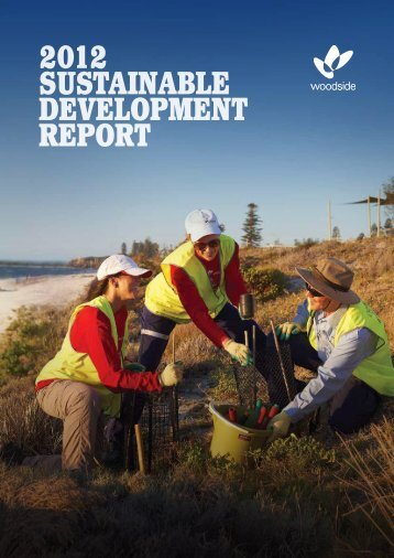 2012 SuStainable Development RepoRt - Woodside