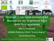 Strategie e macchine innovative ed appropriate per ... - Enrico Avanzi